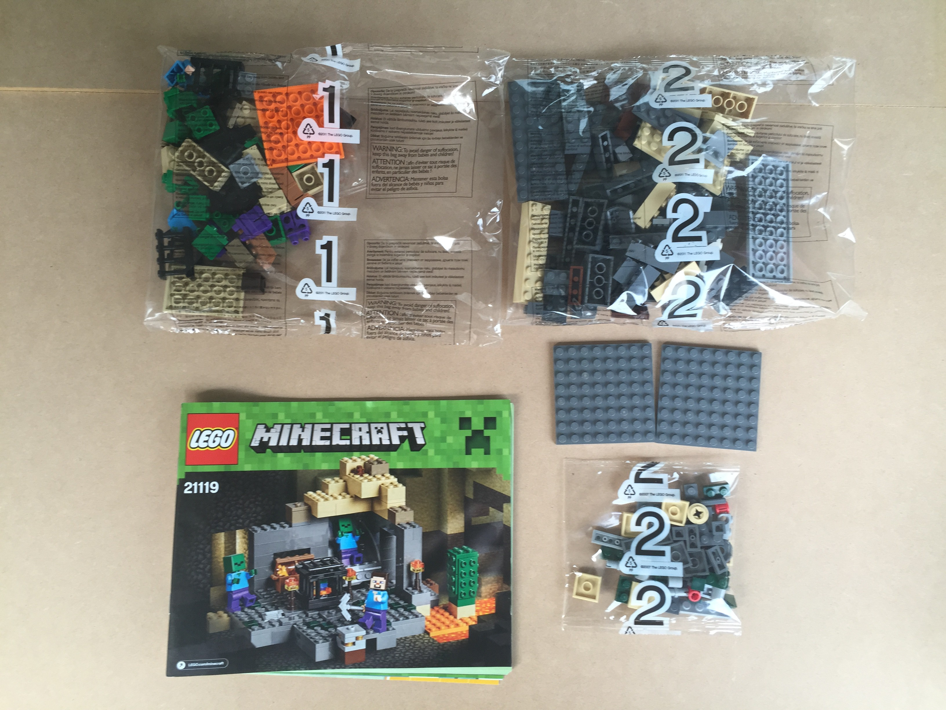 Review Lego Minecraft 2015 Siguen Las Aventuras De Steve