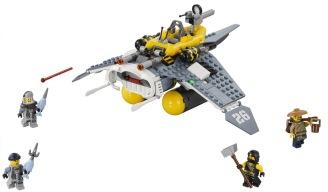 Manta ray bomber